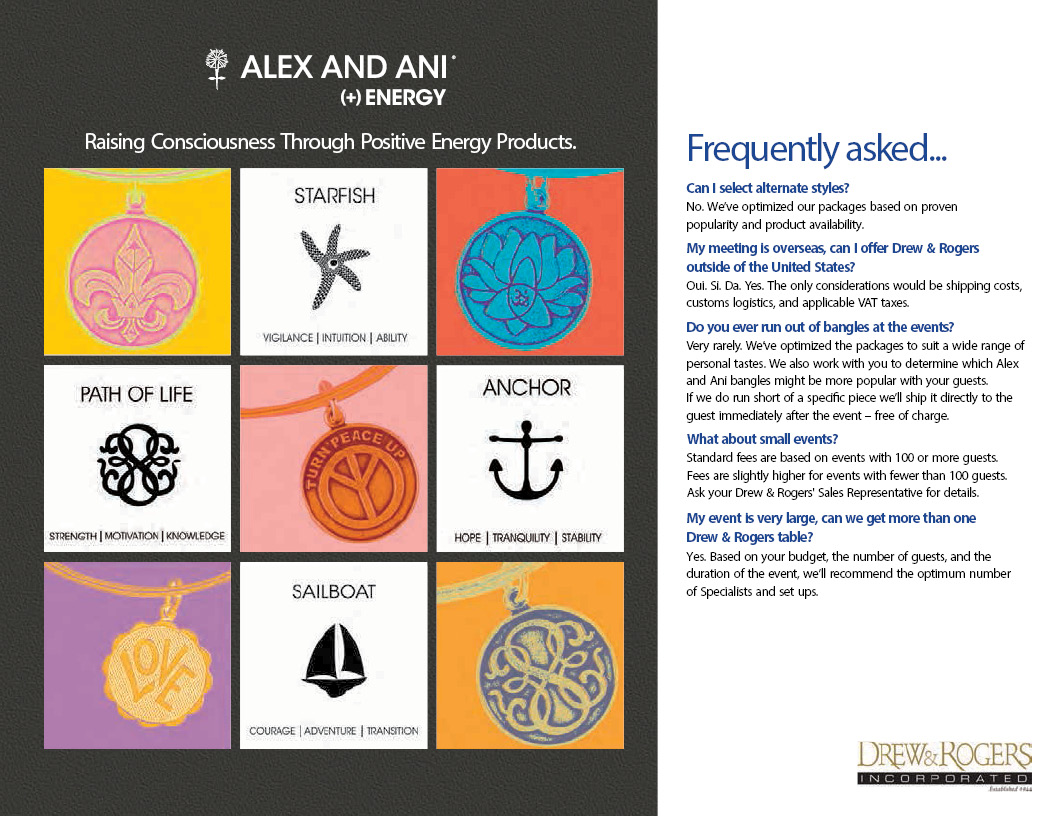 Alex & Ani Meeting as an Event Collection