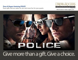 Police Sunglasses Meeting to Event Collection